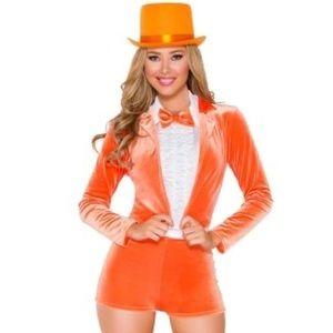 Yandy Funny man orange tuxedo dumb and dumber